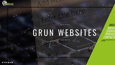 portafolio grun websites